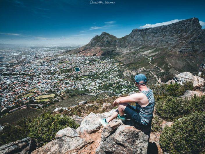 Ausblick auf den Tafelberg