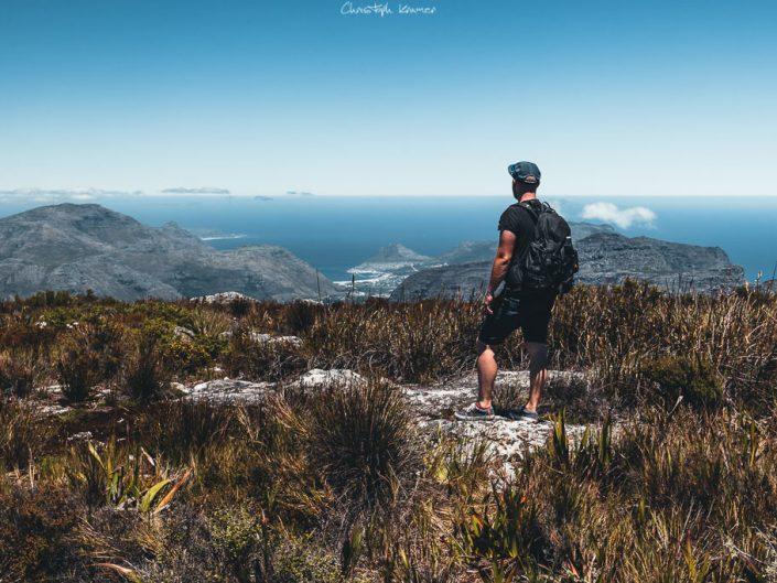 grandiose Aussicht vom Tafelberg auf die umliegende Landschaft