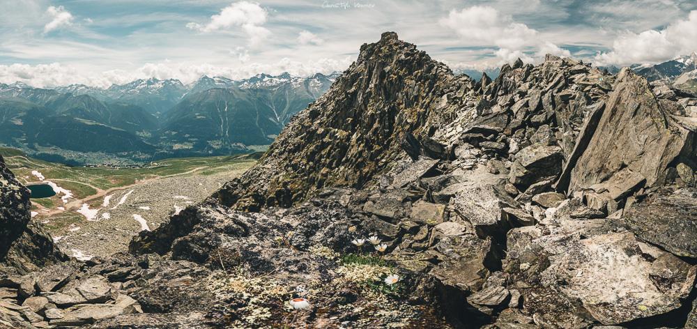 Panorama des UNESCO Höhenwegs