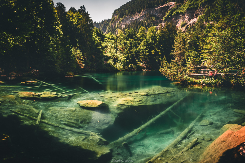 kristallklarer Blausee