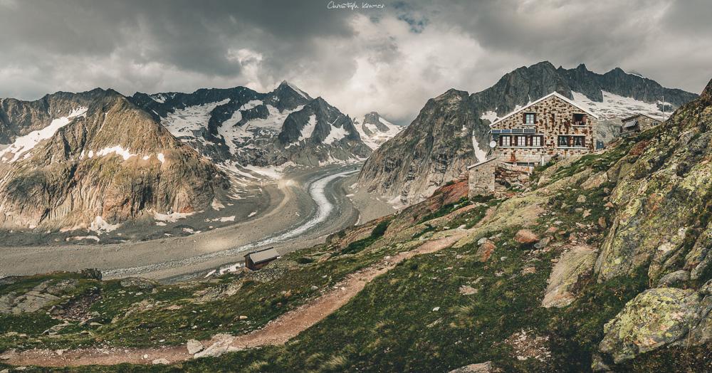 Die Oberaletschhütte