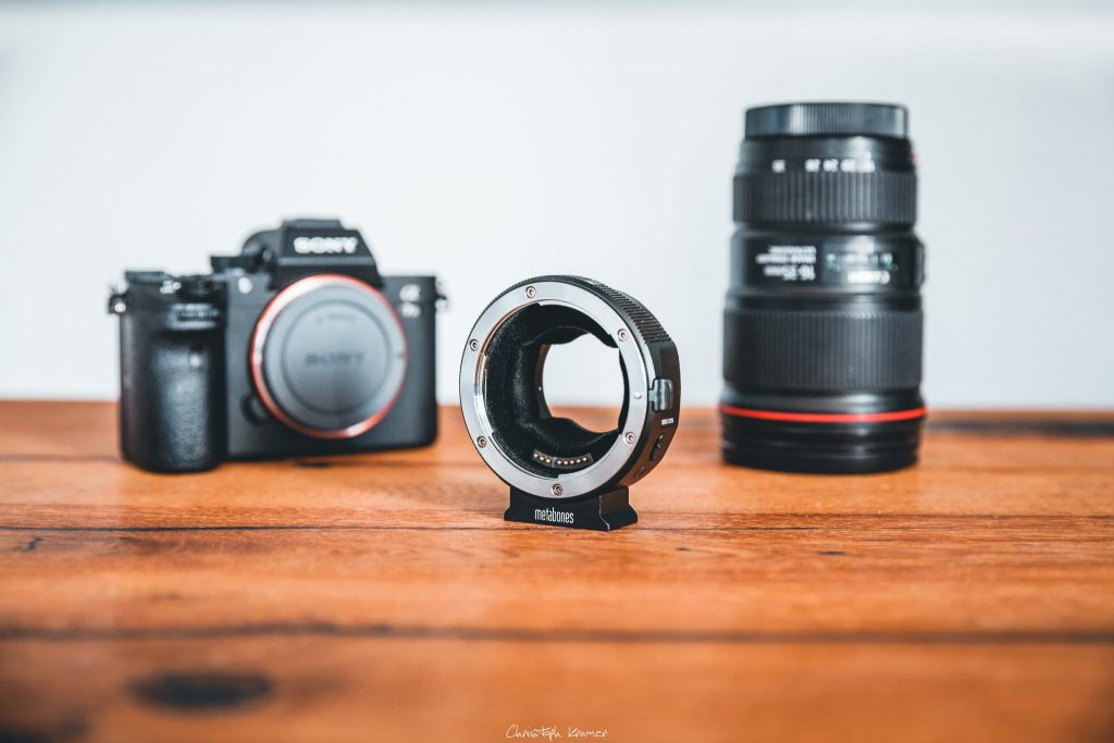Metabones EF-E Mount Mark V Adapter