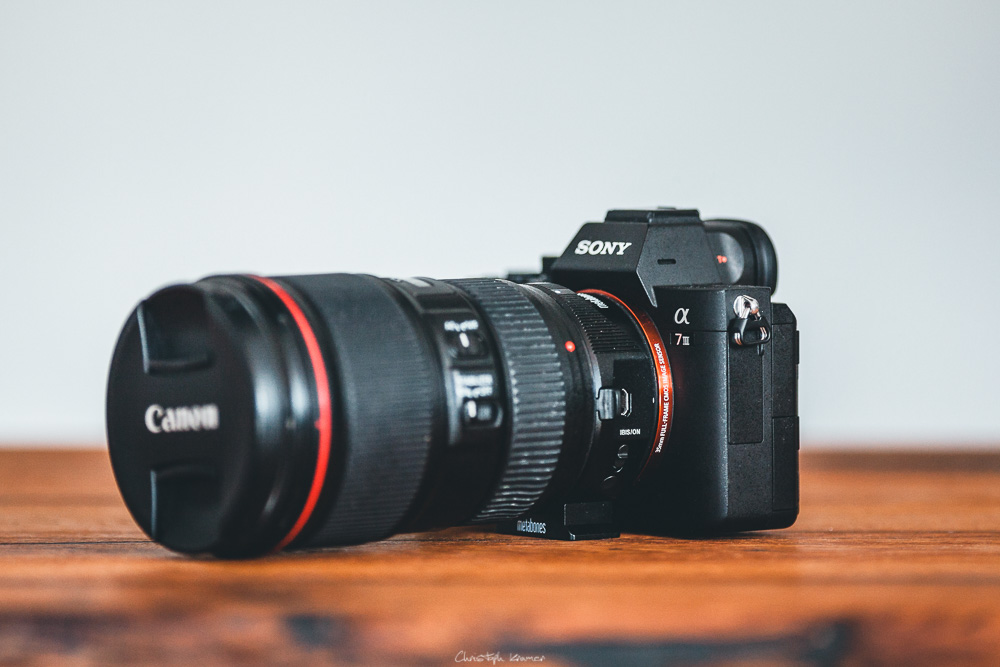 Canon 16-35 f4.0 L Objektiv an Sony A7III