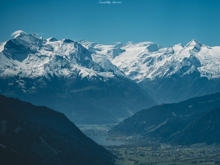 Ausblick bis zum Kitzsteinhorn