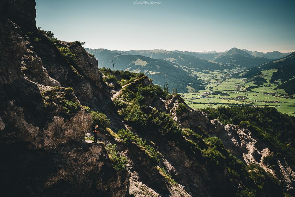 Panoramaweg zur Steinalm