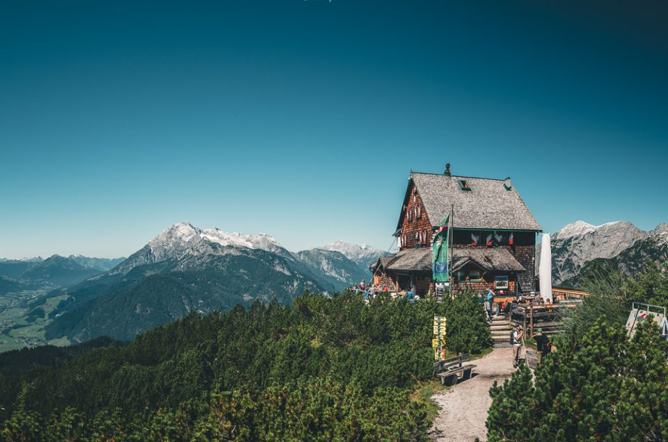 Tagestour zur Peter-Wiechenthaler-Hütte