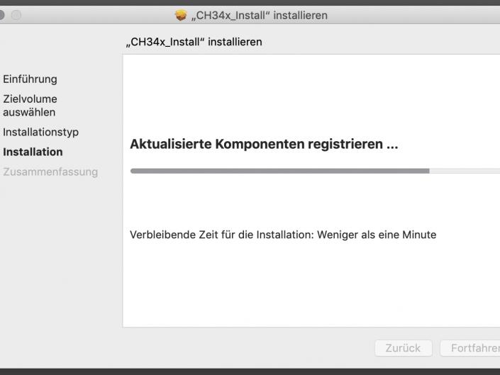 USB-Treiber installieren Step 4