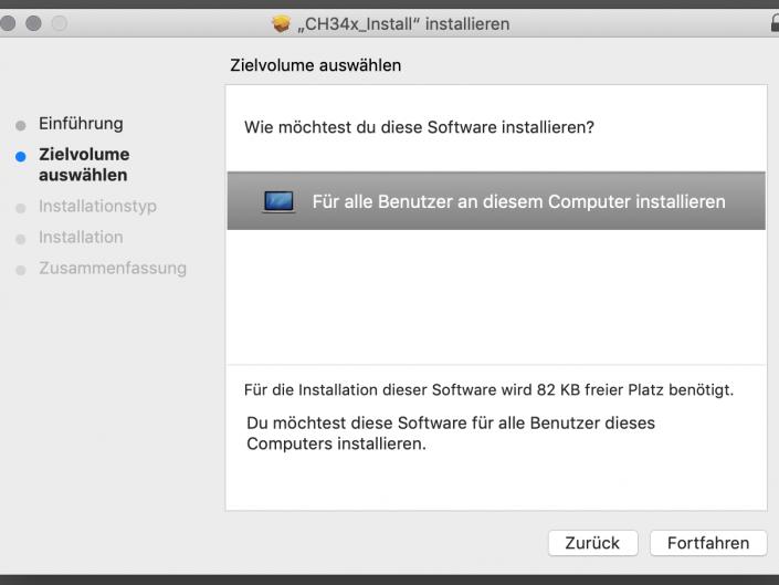USB-Treiber installieren Step 2