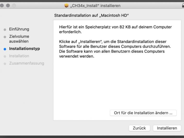USB-Treiber installieren Step 3