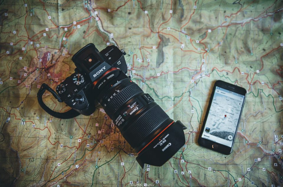 Sony A7 III GPS Standortdaten verwenden