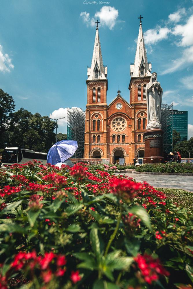 Notre Dame Kathedrale von Saigon