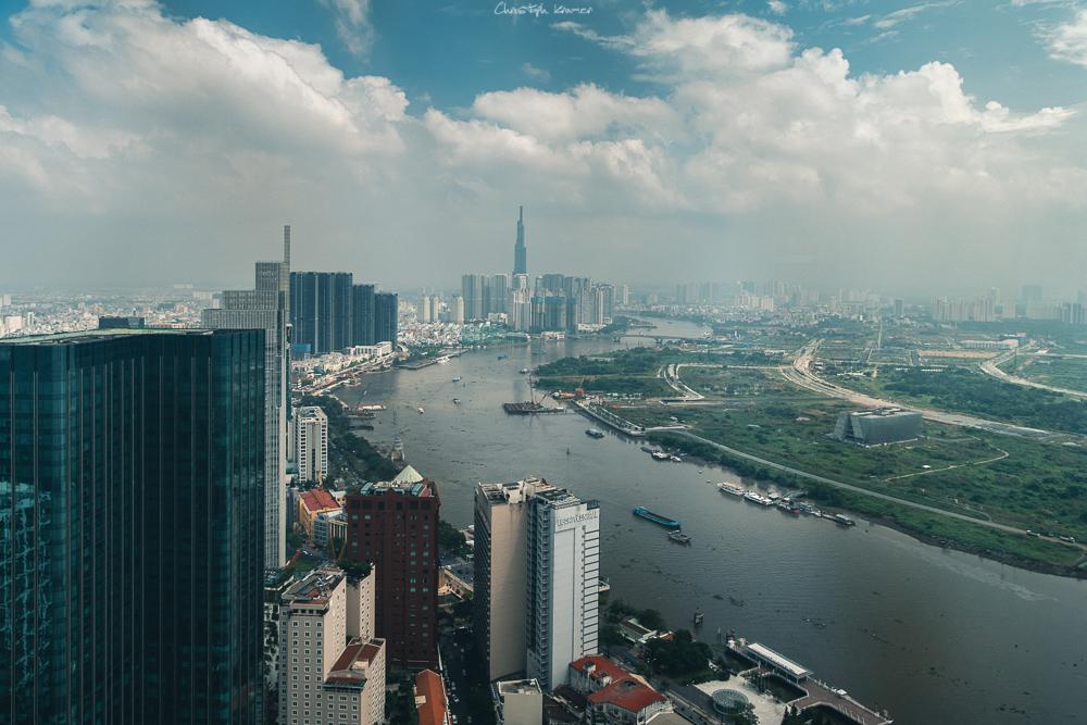 Aussicht vom Skydeck des Bitexco Towers