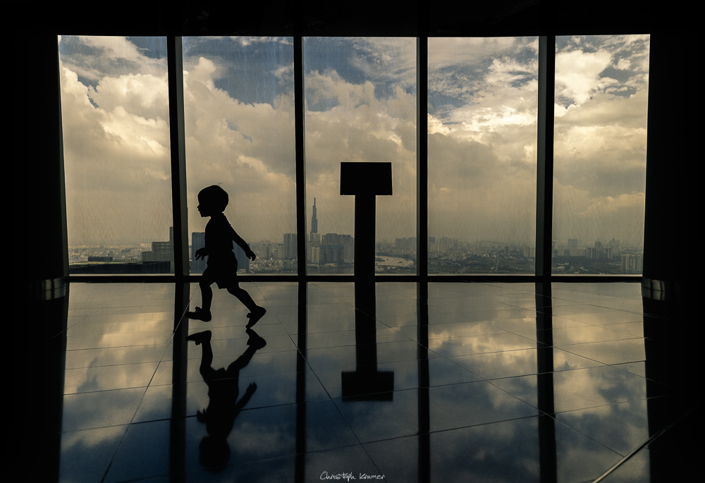 Das Sky Deck des Bitexco Towers