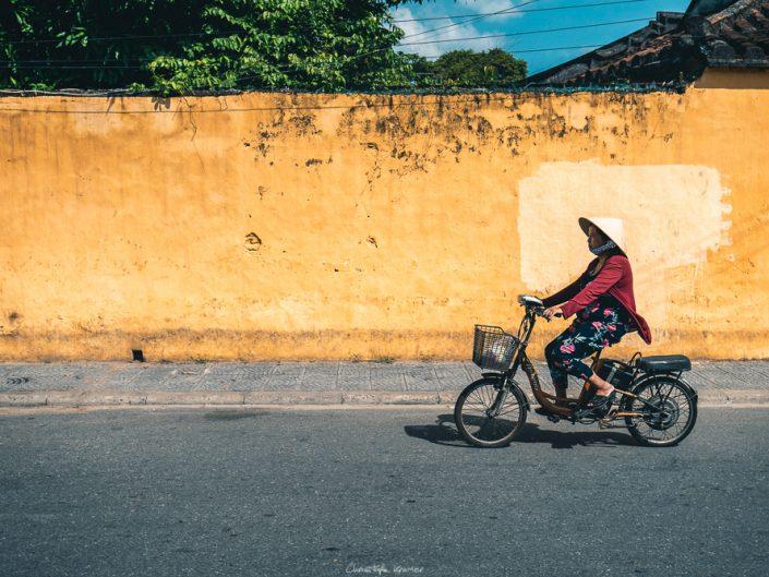 Mit dem Zweirad in Hoi An