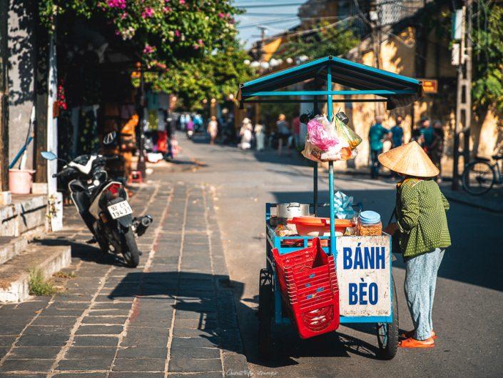 Banh Mi Verkäuferin