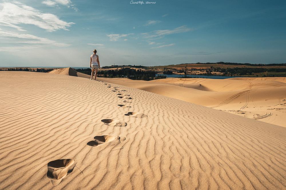 die weißen Dünen von Mui Ne