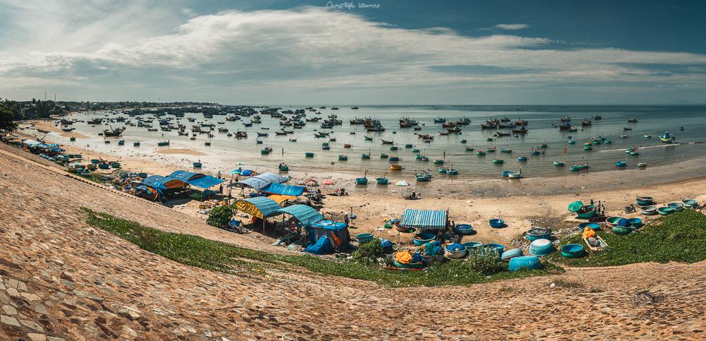 Der Hafen von Mui Ne