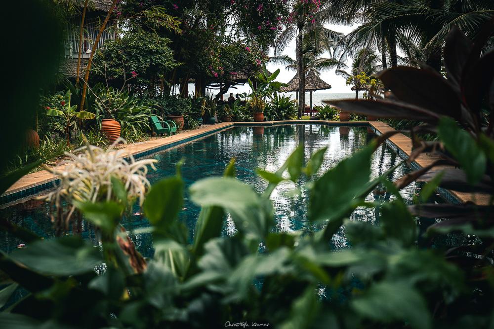 Unser Pool im Full Moon Beach Resort