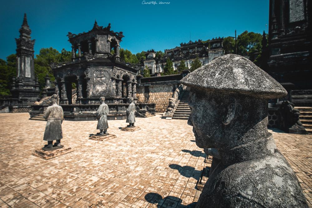 das kaiserlische Grab von Khai Dinh