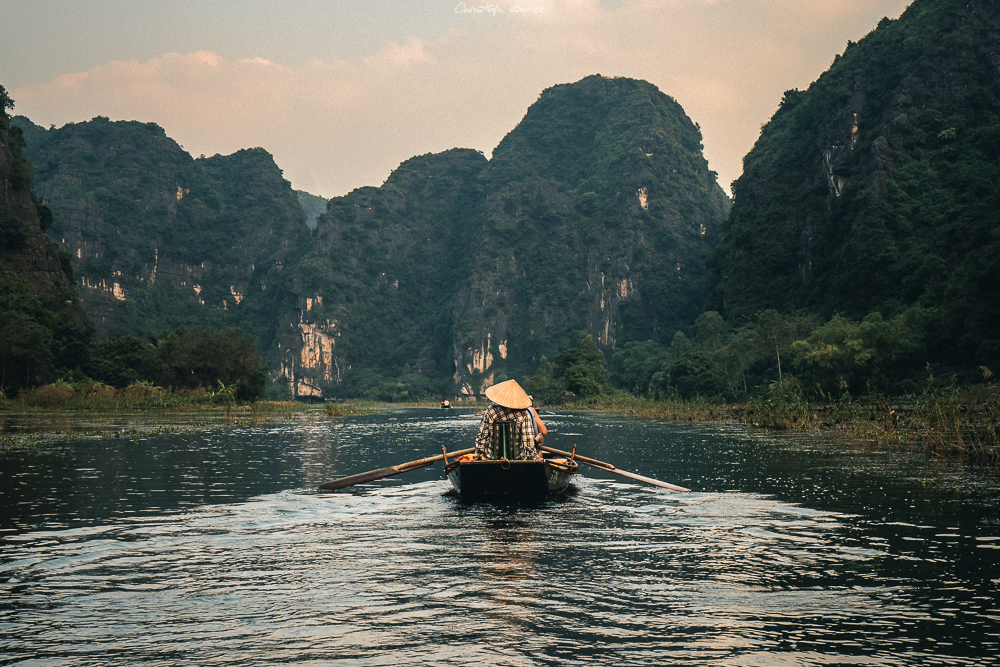 Bootstour in Tam Coc
