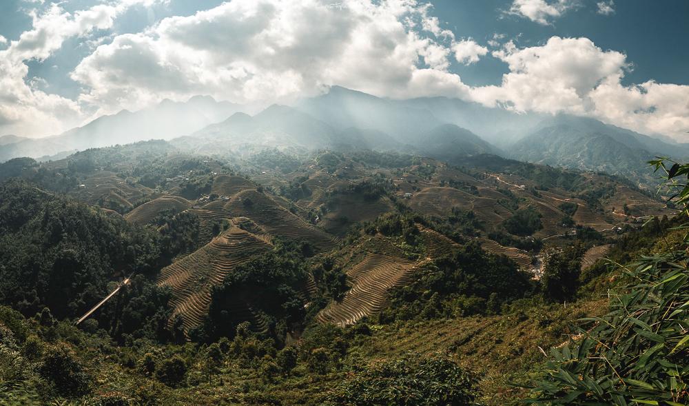 Die Reisterrassen rund um Sapa