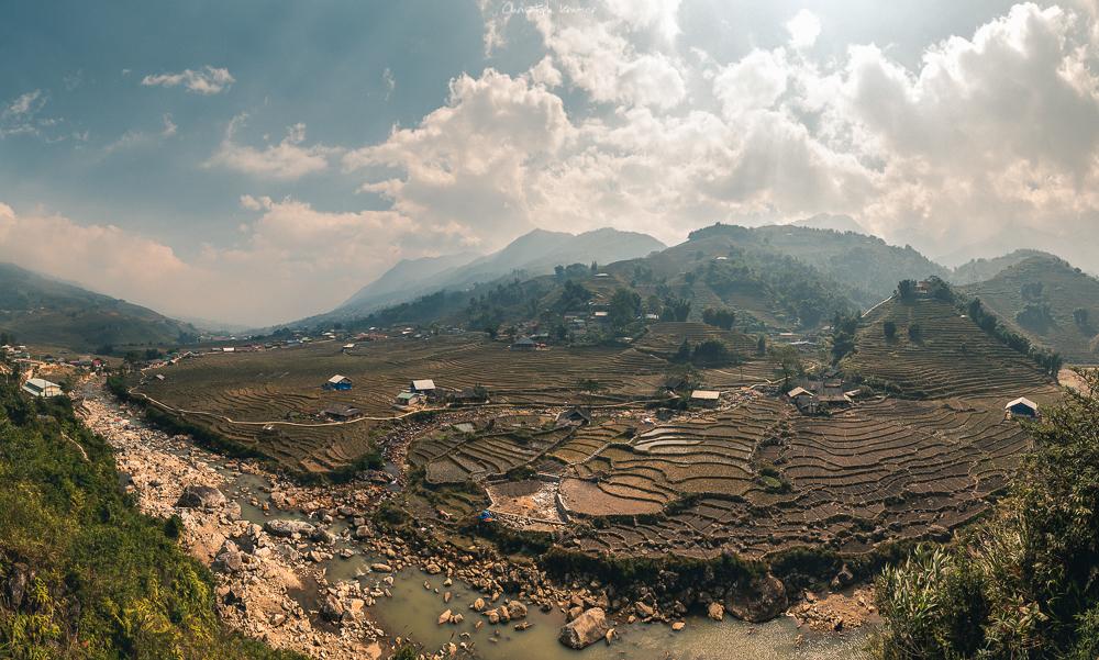 Reisterrassen rund um Sapa