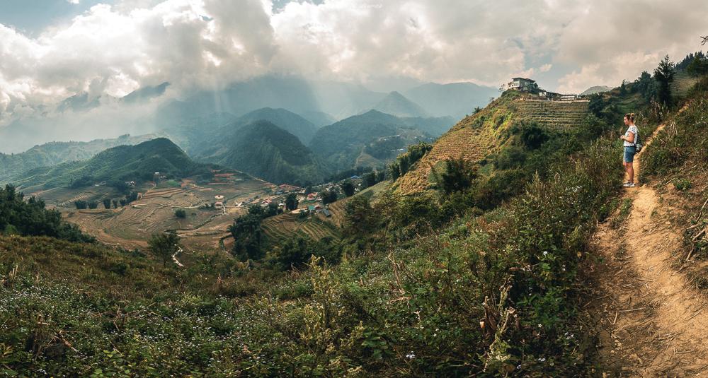 Der Blick in die Reisterrassen