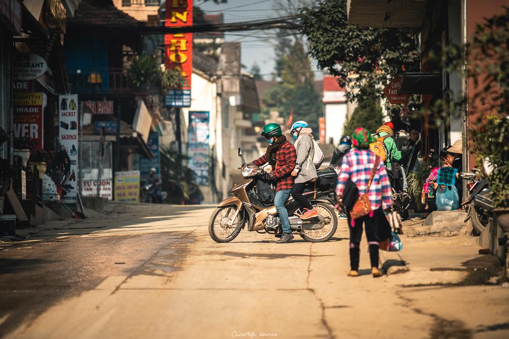 Die Straßen von Sapa