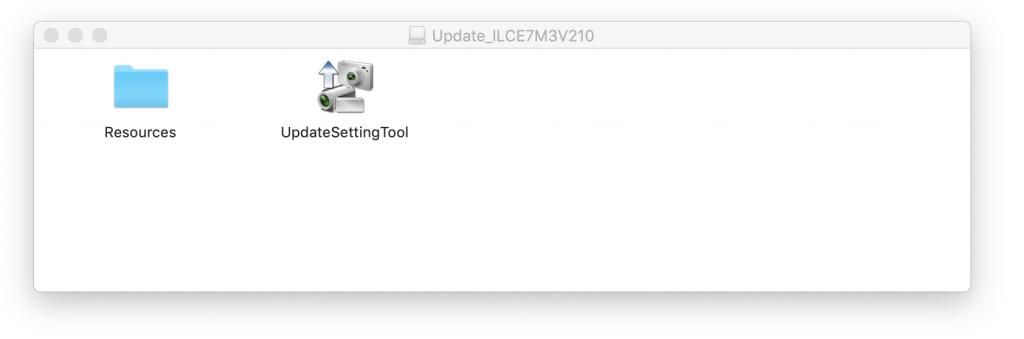 Files zum Firmware Update