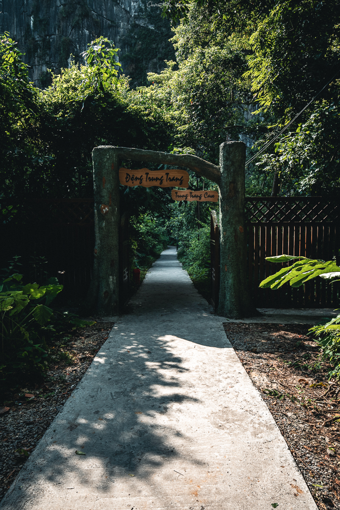 Eingang zur Hang Trung Trang Höhle