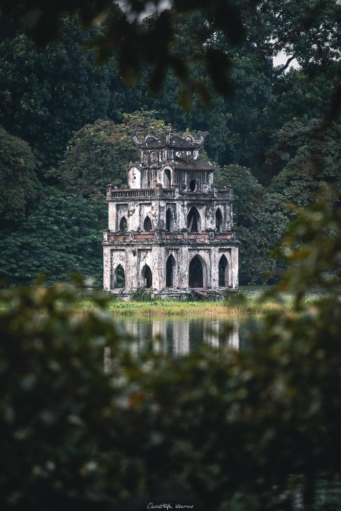 Turtle Temple auf dem Hoan-Kiem-See