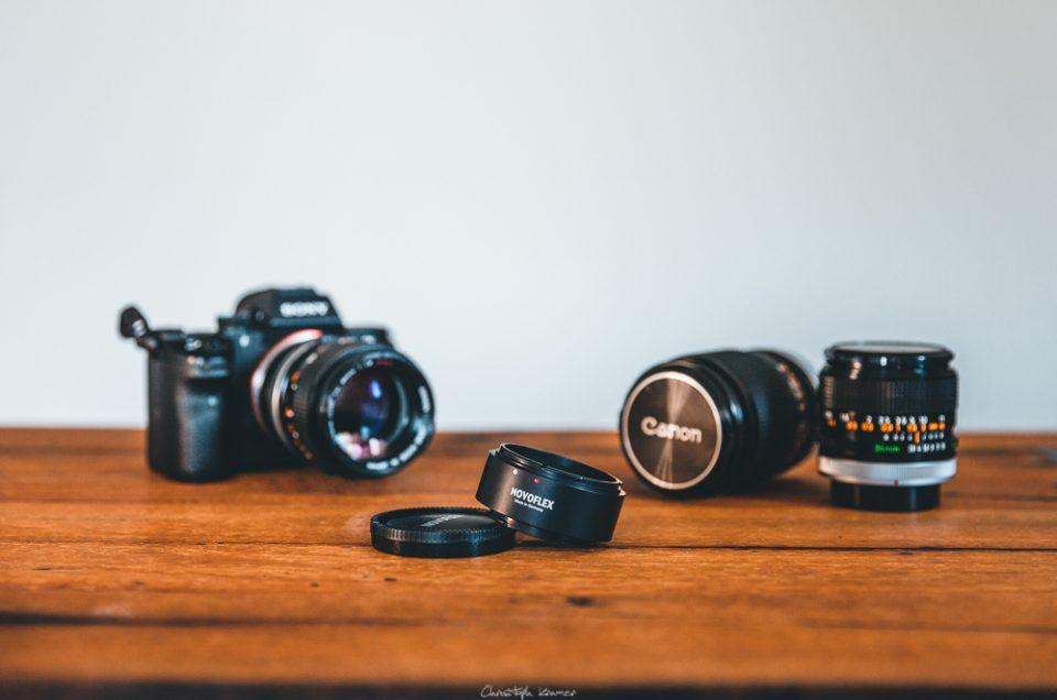 Erfahrungsbericht NOVOFLEX Canon FD / Sony E-Mount